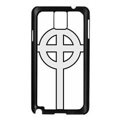 Celtic Cross  Samsung Galaxy Note 3 N9005 Case (Black)