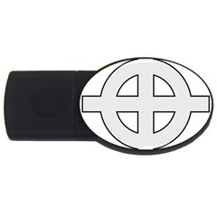 Celtic Cross  Usb Flash Drive Oval (2 Gb) by abbeyz71