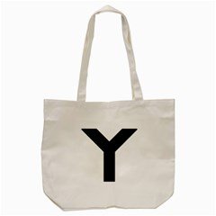 Forked Cross Tote Bag (cream) by abbeyz71