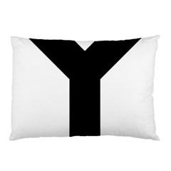 Forked Cross Pillow Case by abbeyz71