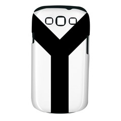 Forked Cross Samsung Galaxy S Iii Classic Hardshell Case (pc+silicone) by abbeyz71