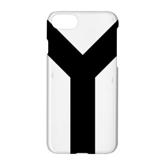 Forked Cross Apple Iphone 7 Hardshell Case by abbeyz71