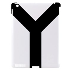 Forked Cross Apple Ipad 3/4 Hardshell Case (compatible With Smart Cover) by abbeyz71
