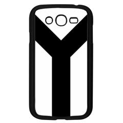 Forked Cross Samsung Galaxy Grand Duos I9082 Case (black) by abbeyz71