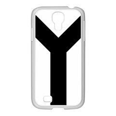 Forked Cross Samsung Galaxy S4 I9500/ I9505 Case (white) by abbeyz71