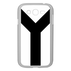 Forked Cross Samsung Galaxy Grand Duos I9082 Case (white) by abbeyz71