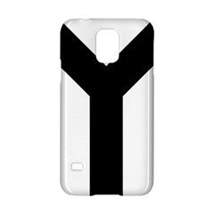 Forked Cross Samsung Galaxy S5 Hardshell Case  by abbeyz71