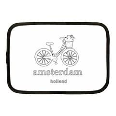 Amsterdam Netbook Case (medium)  by Valentinaart