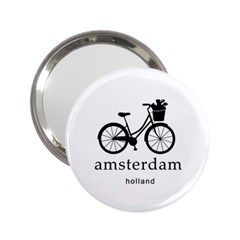 Amsterdam 2 25  Handbag Mirrors by Valentinaart