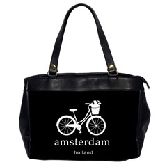 Amsterdam Office Handbags (2 Sides)  by Valentinaart