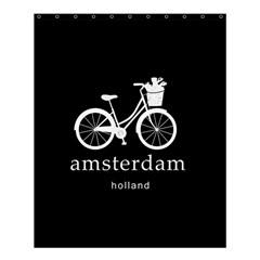 Amsterdam Shower Curtain 60  X 72  (medium)  by Valentinaart