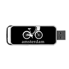 Amsterdam Portable Usb Flash (one Side) by Valentinaart