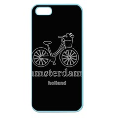 Amsterdam Apple Seamless Iphone 5 Case (color) by Valentinaart