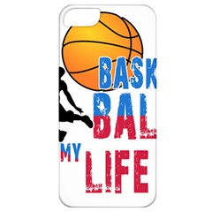 Basketball Is My Life Apple Iphone 5 Classic Hardshell Case by Valentinaart