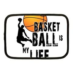 Basketball Is My Life Netbook Case (medium)  by Valentinaart