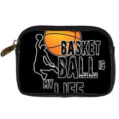 Basketball Is My Life Digital Camera Cases by Valentinaart