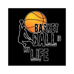 Basketball Is My Life Acrylic Tangram Puzzle (6  X 6 ) by Valentinaart