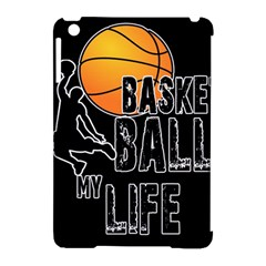 Basketball Is My Life Apple Ipad Mini Hardshell Case (compatible With Smart Cover) by Valentinaart