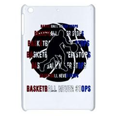 Basketball Never Stops Apple Ipad Mini Hardshell Case by Valentinaart