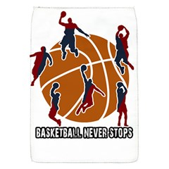 Basketball Never Stops Flap Covers (s)  by Valentinaart