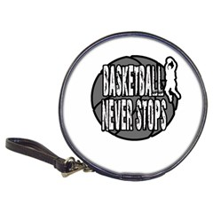 Basketball Never Stops Classic 20 Cd Wallets by Valentinaart