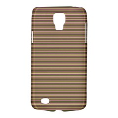 Decorative Lines Pattern Galaxy S4 Active by Valentinaart