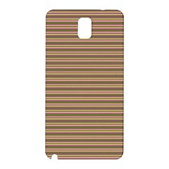 Decorative Lines Pattern Samsung Galaxy Note 3 N9005 Hardshell Back Case by Valentinaart