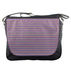 Decorative Lines Pattern Messenger Bags by Valentinaart