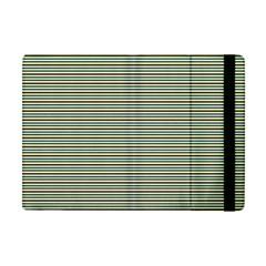 Decorative Lines Pattern Apple Ipad Mini Flip Case by Valentinaart