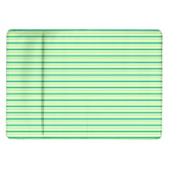 Decorative Lines Pattern Samsung Galaxy Tab 10 1  P7500 Flip Case by Valentinaart