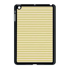 Decorative Lines Pattern Apple Ipad Mini Case (black) by Valentinaart