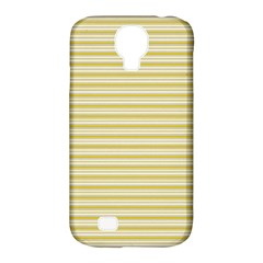 Decorative Lines Pattern Samsung Galaxy S4 Classic Hardshell Case (pc+silicone) by Valentinaart