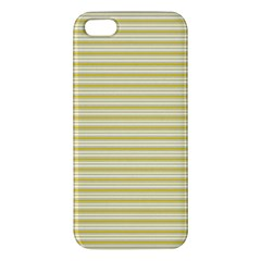 Decorative Lines Pattern Iphone 5s/ Se Premium Hardshell Case by Valentinaart