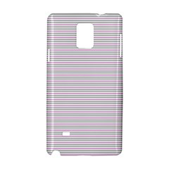 Decorative Lines Pattern Samsung Galaxy Note 4 Hardshell Case by Valentinaart