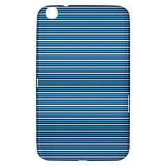 Decorative Lines Pattern Samsung Galaxy Tab 3 (8 ) T3100 Hardshell Case  by Valentinaart