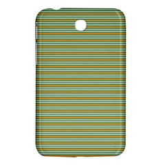 Decorative Line Pattern Samsung Galaxy Tab 3 (7 ) P3200 Hardshell Case  by Valentinaart