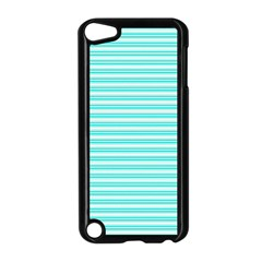 Decorative Line Pattern Apple Ipod Touch 5 Case (black) by Valentinaart