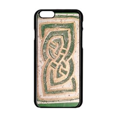 Ab Celtic Swirl Apple Iphone 6/6s Black Enamel Case by DeneWestUK