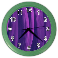 Artistic Pattern Color Wall Clocks by Valentinaart