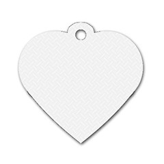 Artistic Pattern Dog Tag Heart (one Side) by Valentinaart