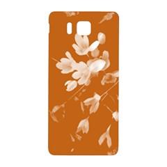 Autumn Crocus Orange Samsung Galaxy Alpha Hardshell Back Case by DeneWestUK