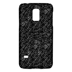 Linear Abstract Black And White Galaxy S5 Mini by dflcprints