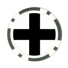 Greek Cross Poker Chip Card Guard (10 Pack) by abbeyz71