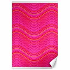 Pattern Canvas 20  X 30   by Valentinaart