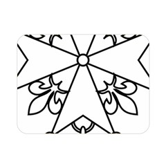 Huguenot Cross Double Sided Flano Blanket (mini)  by abbeyz71
