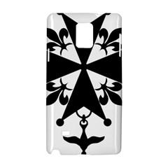 Huguenot Cross Samsung Galaxy Note 4 Hardshell Case by abbeyz71