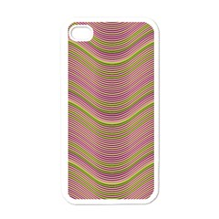 Pattern Apple Iphone 4 Case (white) by Valentinaart
