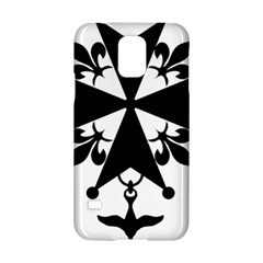 Huguenot Cross Samsung Galaxy S5 Hardshell Case  by abbeyz71