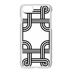 Macedonian Cross Apple Iphone 7 Seamless Case (white) by abbeyz71