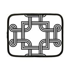 Macedonian Cross Netbook Case (small)  by abbeyz71